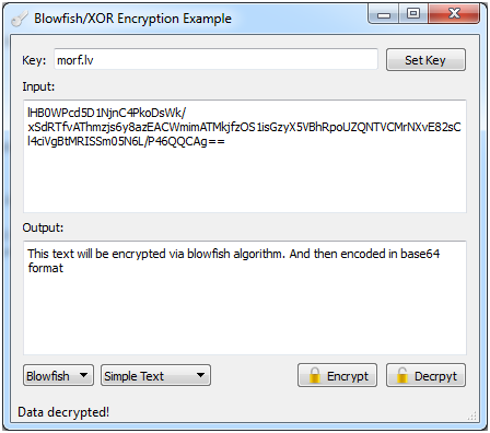 Encryption In Qt