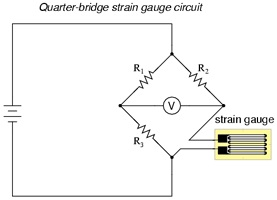 Strain Gauge Based Weight Sensor Load Cell MORF Coding And - 3 wire load cell wiring diagram